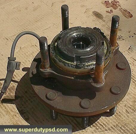 Ford F250 F350 wheel bearing