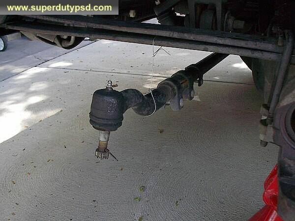 Ford F250 tie rod end