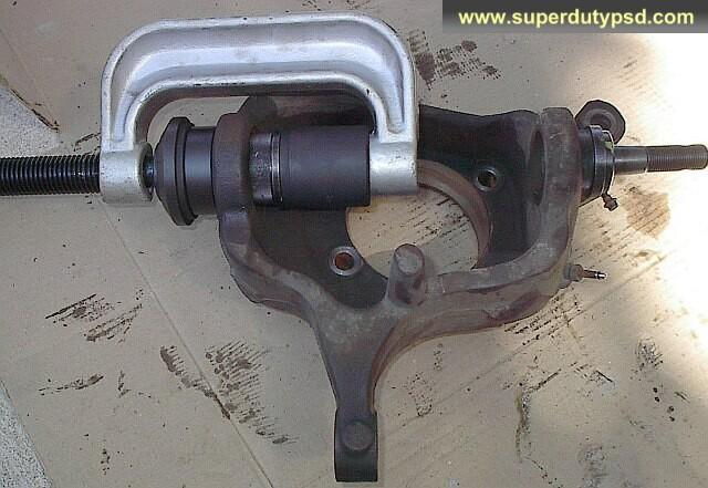 remove ball joint, ball joint press