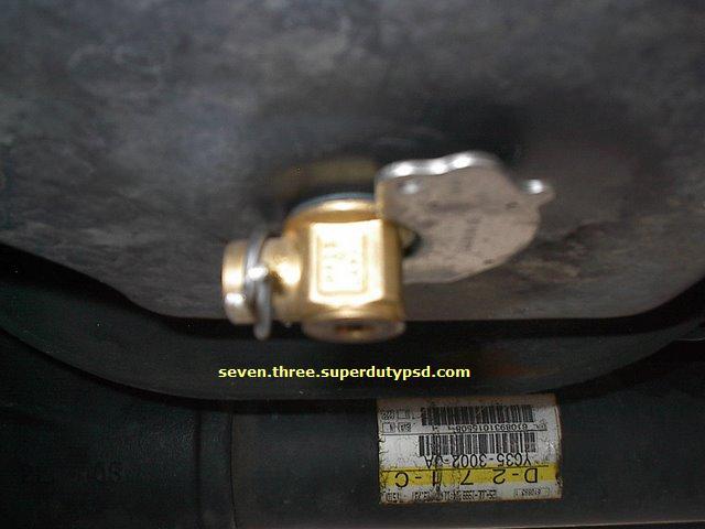 Fumoto oil drain valve