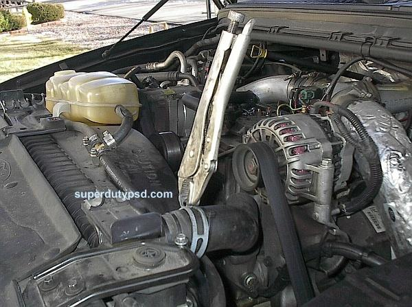 remove upper radiator hose