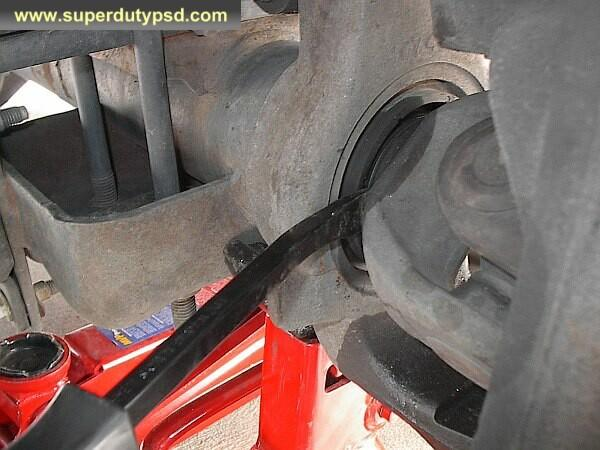 remove axle