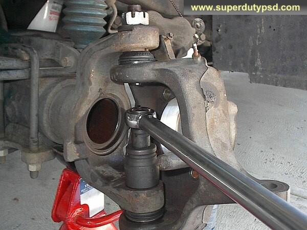 Moog U Joints >> Ford Super Duty Ball Joint Replacement Procedure