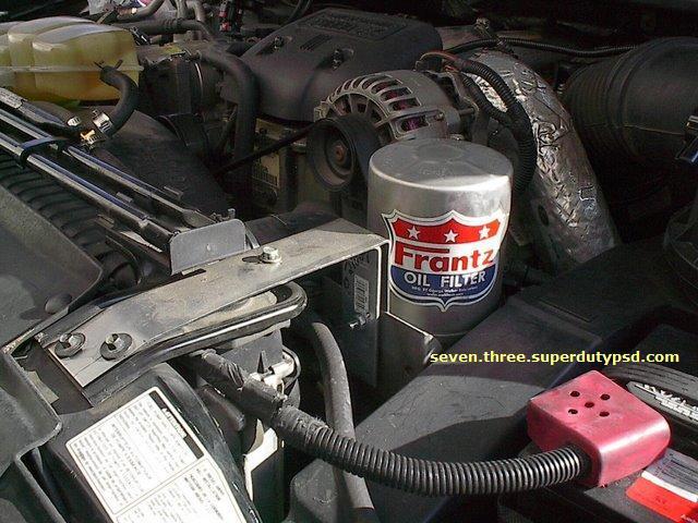 Frantz bypass oil filter