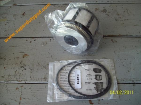 Ford Powerstroke Diesel Fuel Filter