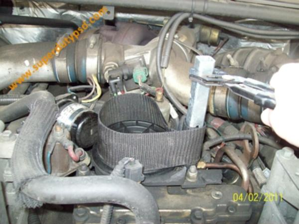 Ford Super Duty Fuel Filter Replacement Procedure ... on