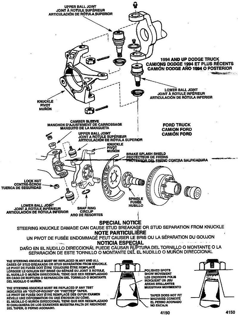moog ball joint installation instructions page 1