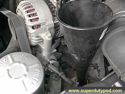 2000 ford f250 diesel transmission fluid
